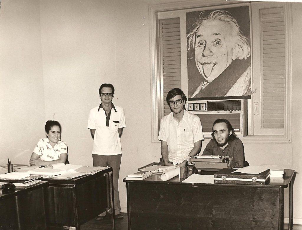 Memória do Futuro - Década de 70 - Equipe de Consultoria Organizacional da Procenge