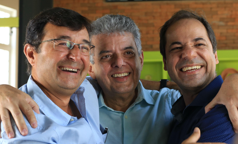 Luiz Vieira, Carlos Ferraz e Herman Braga